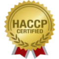 HAACP CERTIFIED seal for St. Peter Projects.