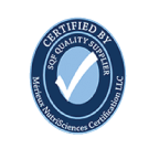 SQF certification seal for St. Peter Projects.